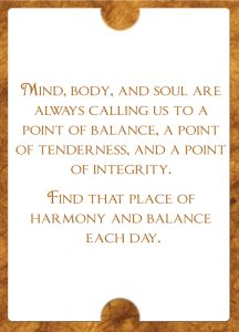 Inspiration For Your Soul Balance