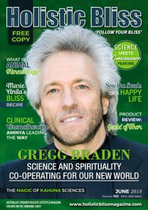 Greg Braden Holistic Bliss Cover